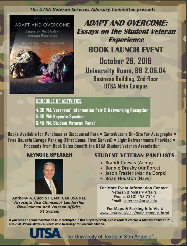 Book Launch Event in San Antonio