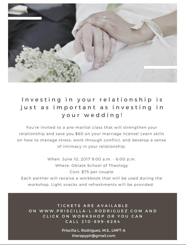 Marital Workshop for Couples