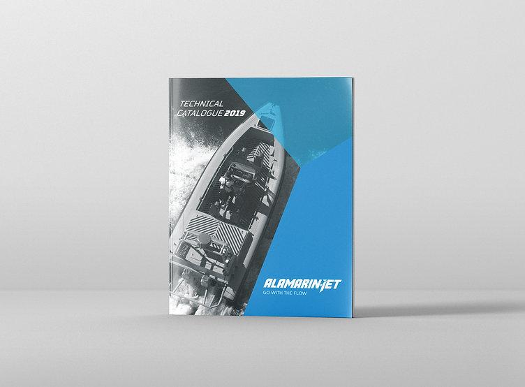Kollegi CA. alamarin-jet фирменный стиль буклет