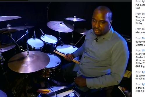 TMEA Jazz Drum Set Masterclass Video