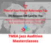 TMEA Jazz Audition Masterclasses promo.p