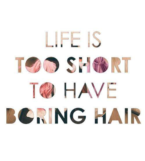 Everyday is a reason for GREAT hair!