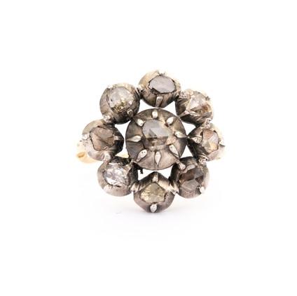 189 Diamond Cluster Ring £700