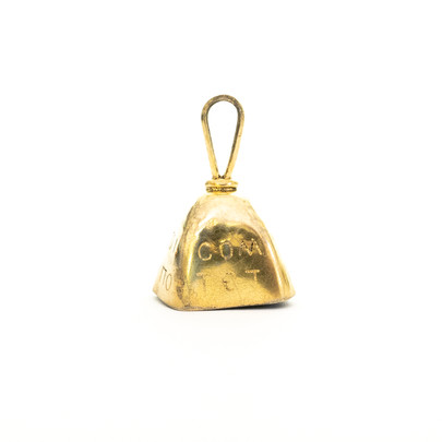 135 Gold Bell Pendant £500