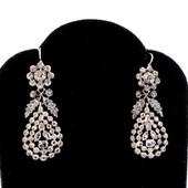 21 Silver & Diamond Earrings £1550
