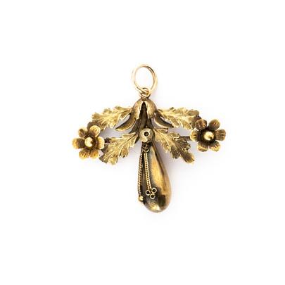 Gold Leaf Pendant £250
