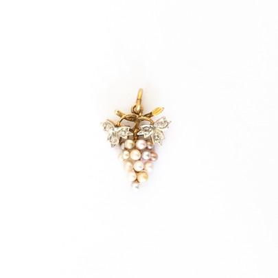 61 Diamond &Pearl Pendant £700