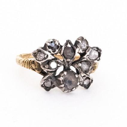 24 Rare Georgian Diamond Butterfly Ring  £1500