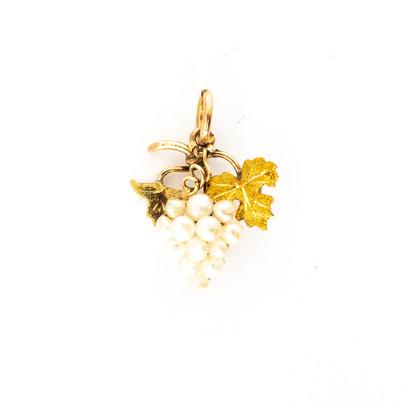 57 Gold & Pearl Pendant £350