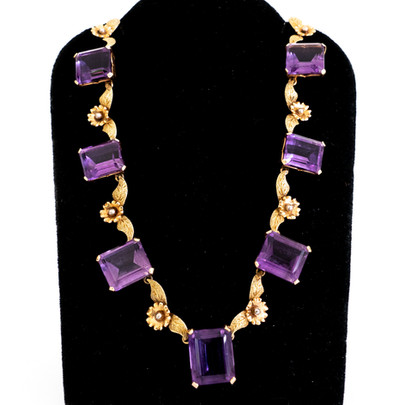 115  Amy & Gold Necklace £1100