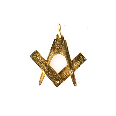 80 9ct Masonic Pendant £190