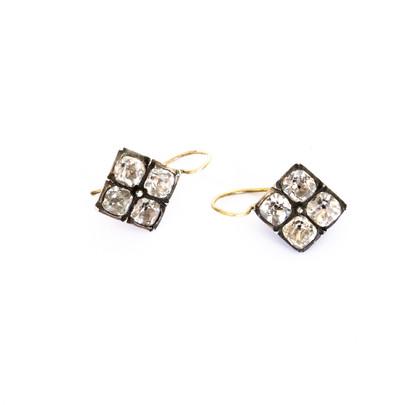 244 Unusual Paste Earrings £300
