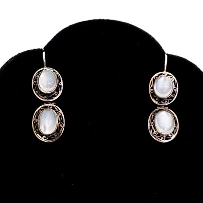 245 Silver & Moonstone Earrings £250
