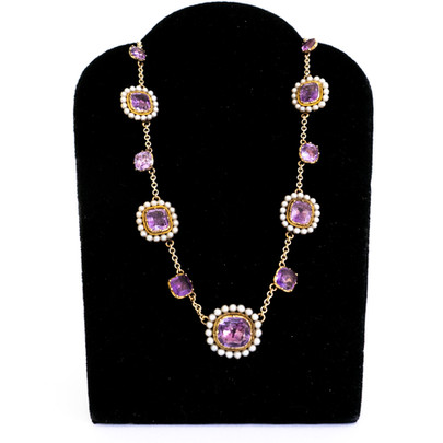 108 Amy & Pearl Necklace £2600