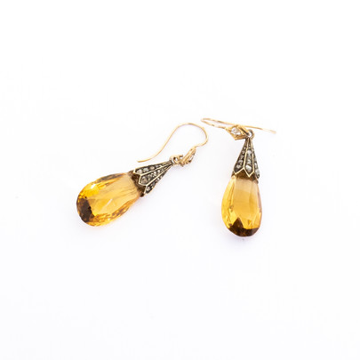 40 Citrine and Diamond Earrings £1350