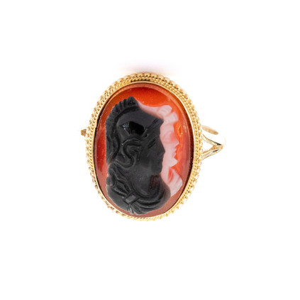 199 Hard Stone Double Cameo Ring £490