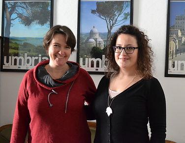 Claudia e Francesca