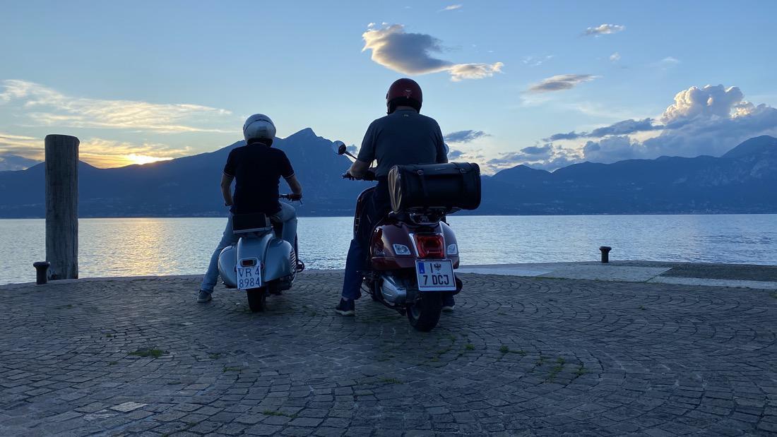 Tramonto a Torri del Benaco – Lago di Garda
