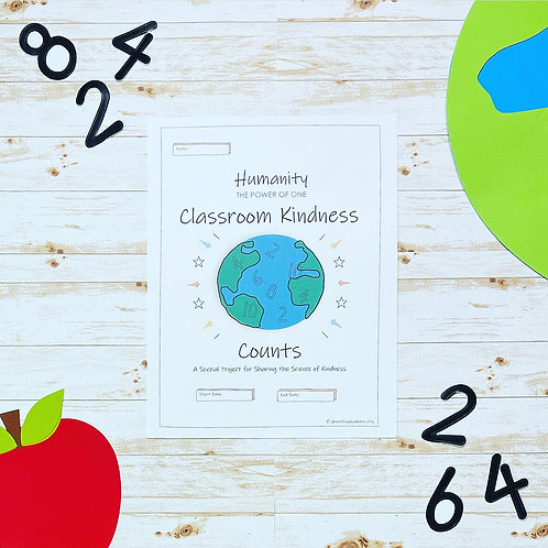 CLASSROOM KINDNESS COUNTS PROJECT - Teach Kindness with Science