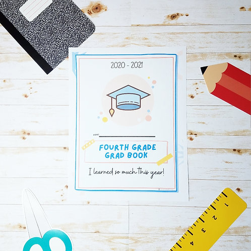 GRAD BOOK COVERS: Beat the End-of-School Blues w/ A Book of Your Big Highlights