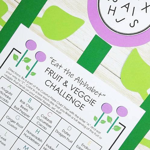 EAT THE ALPHABET CHALLENGE: A Fun Way to Add More Veggie Variety