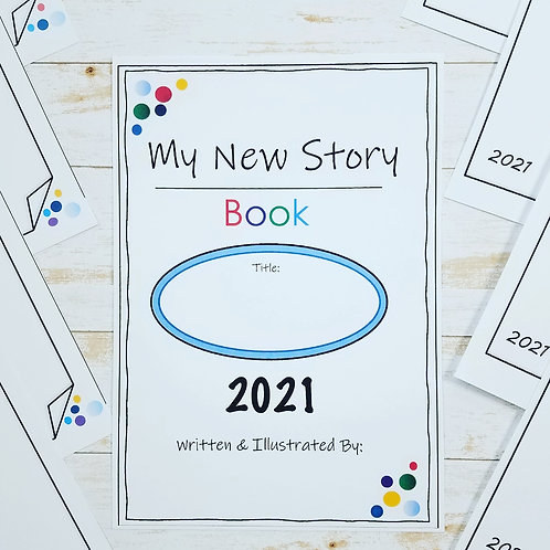 NEW STORY BOOK MINI: An Easy, Fun & Creative Way To Start Goal Setting Today