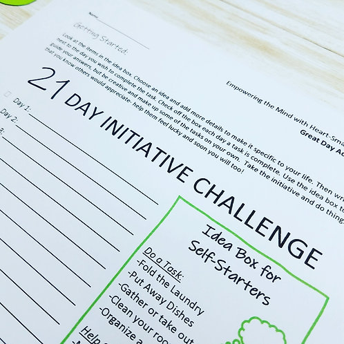 AMBITIOUS KIDS: Learning Independence & Initiative in a 21-Day Challenge