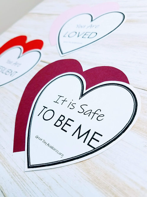 SELF-LOVE AFFIRMATION STATION: Promoting Positive Self-Talk at Home & School