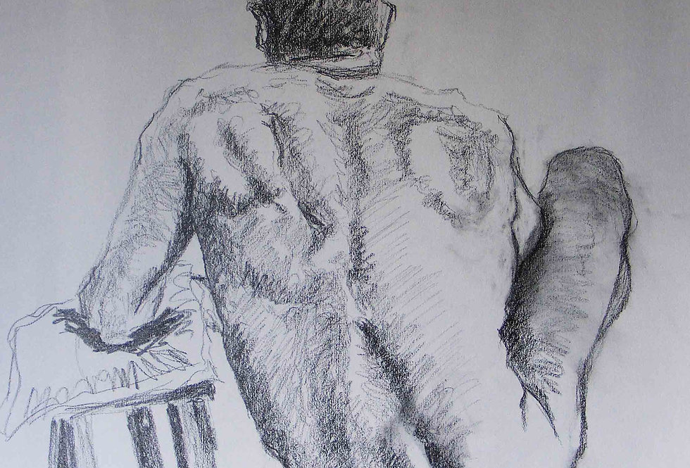 Man in graphite