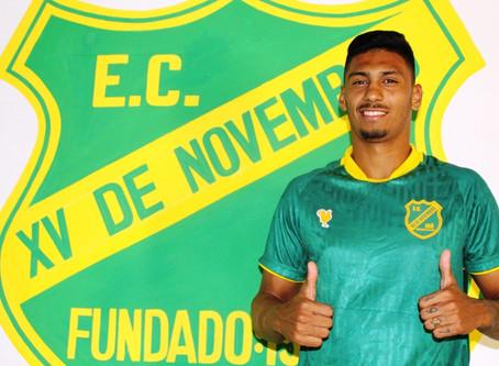 Zagueiro Thawan troca elite de Alagoas para defender o XV de Jaú