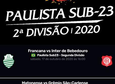 Segunda Divisão começa sábado com dois rivais do XV em campo: dá pra acompanhar pela TV FPF