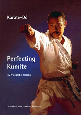 "Masahiko Tanaka  Perfecting Kumite translation by Schlatt  Perfecting Kumite Tanaka reveals the secrets that made him twice All Japan Champion and twice World Champion, including: in-depth technical analysis of advanced moves, hints and tips for tournament preparation how to seize the initiative in fights maximizing your mental and physical potential motivational training techniques, finding and developing the techniques that suit your individual style accounts of individual fights that lead to Tanakaís success in the All Japan Championships and the World Championships. The book is superbly illustrated with over 700 photographs and diagrams to ensure that each point is explained as clearly as possible.  ""Masahiko Tanaka is one of the great karateka of the Japan Karate Association. Upon his retirement from competition as a representative of Japan he remained undefeated against the strongest opponents in the world."" the late Masatoshi Nakayama, Chief Instructor of the JKA  The book is of"