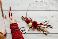 Workshop Floral Hoop