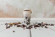Coffee to go Becher bemalen