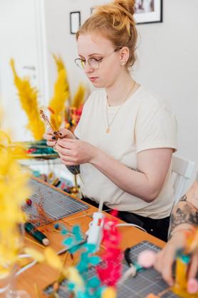 Trockenblumen Workshop