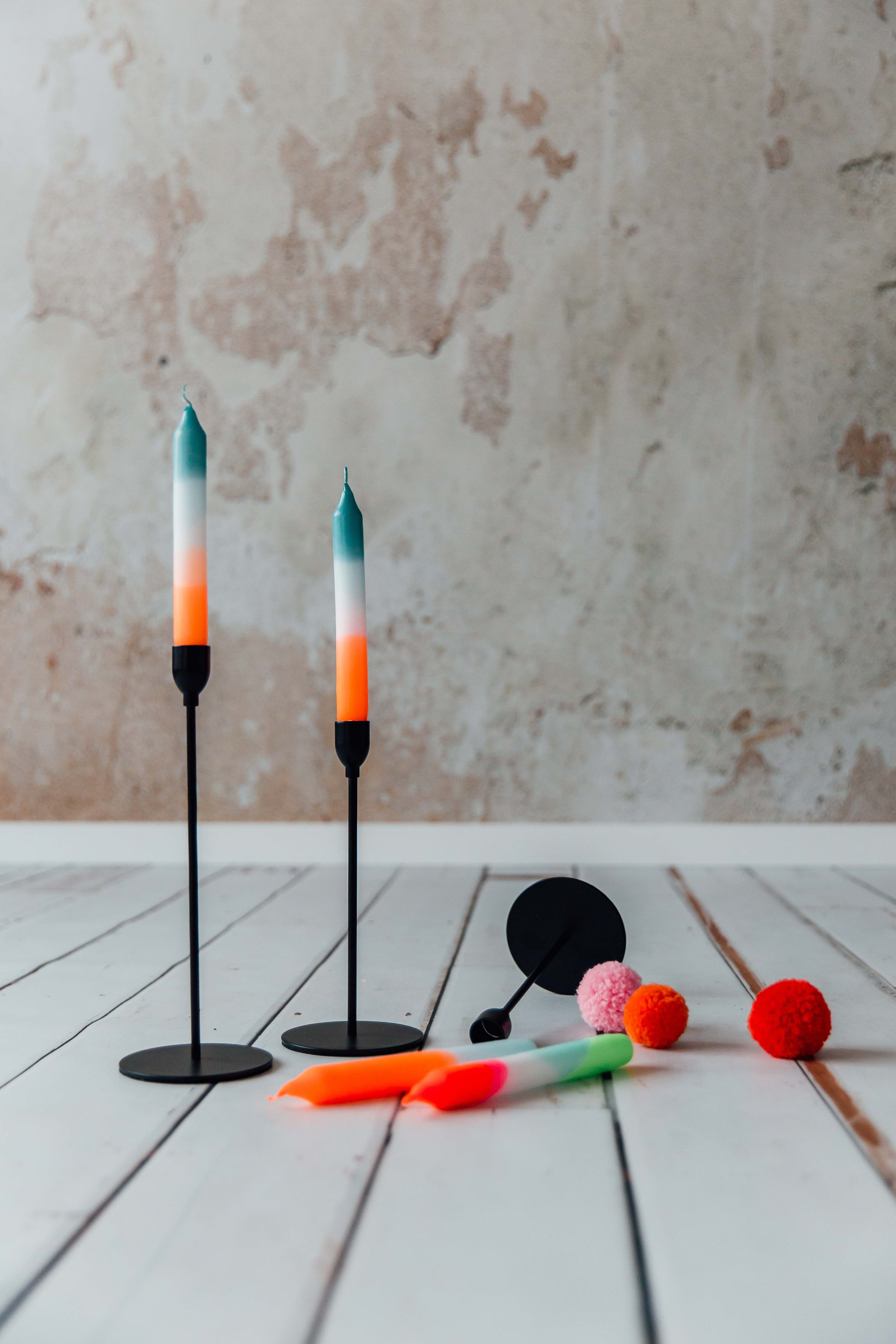 Workshop: Dip Dye Kerzen