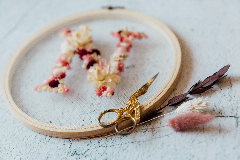 Workshop: Blüten im Stickrahmen