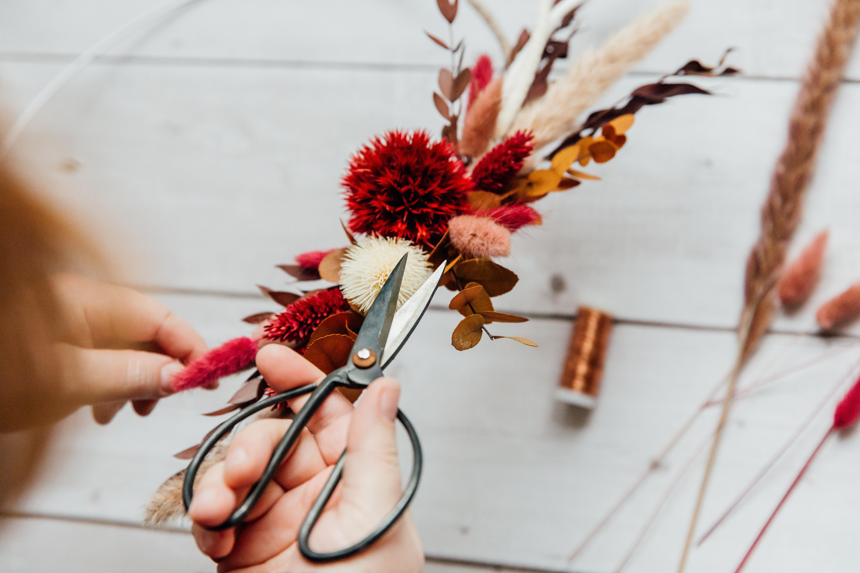 Mädelsabend - Floral Hoop Workshoop