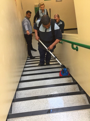 How MotorScrubber is Helping Hospitals Keep Stairs Clean