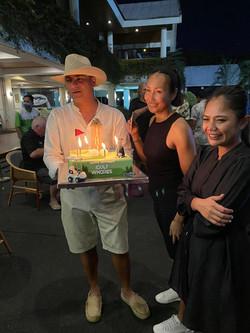 Modern 2021 R4 Birthday Cake