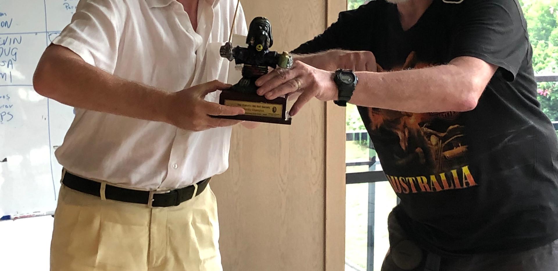 Senayan 2020 Week 2 Champion Andy Abram.