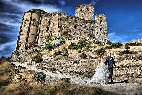 Postboda castillo de Loarre.