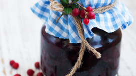 Cranberry Sauce with Orange & Cinnamon