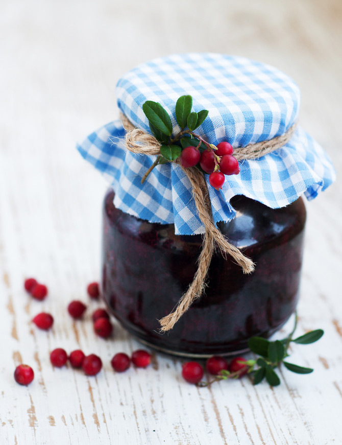 Cranberry and Chia Jam