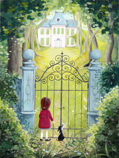 Girl At The Gate