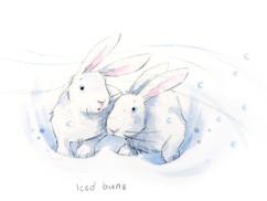 Iced Buns