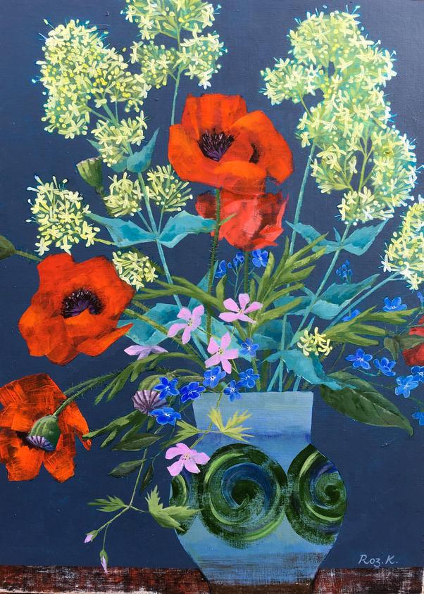 Norfolk Poppies