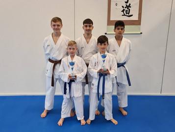 Shinsei Kan Karateschule mit Erfolg an den nachgeholten Schweizermeisterschaften 2020