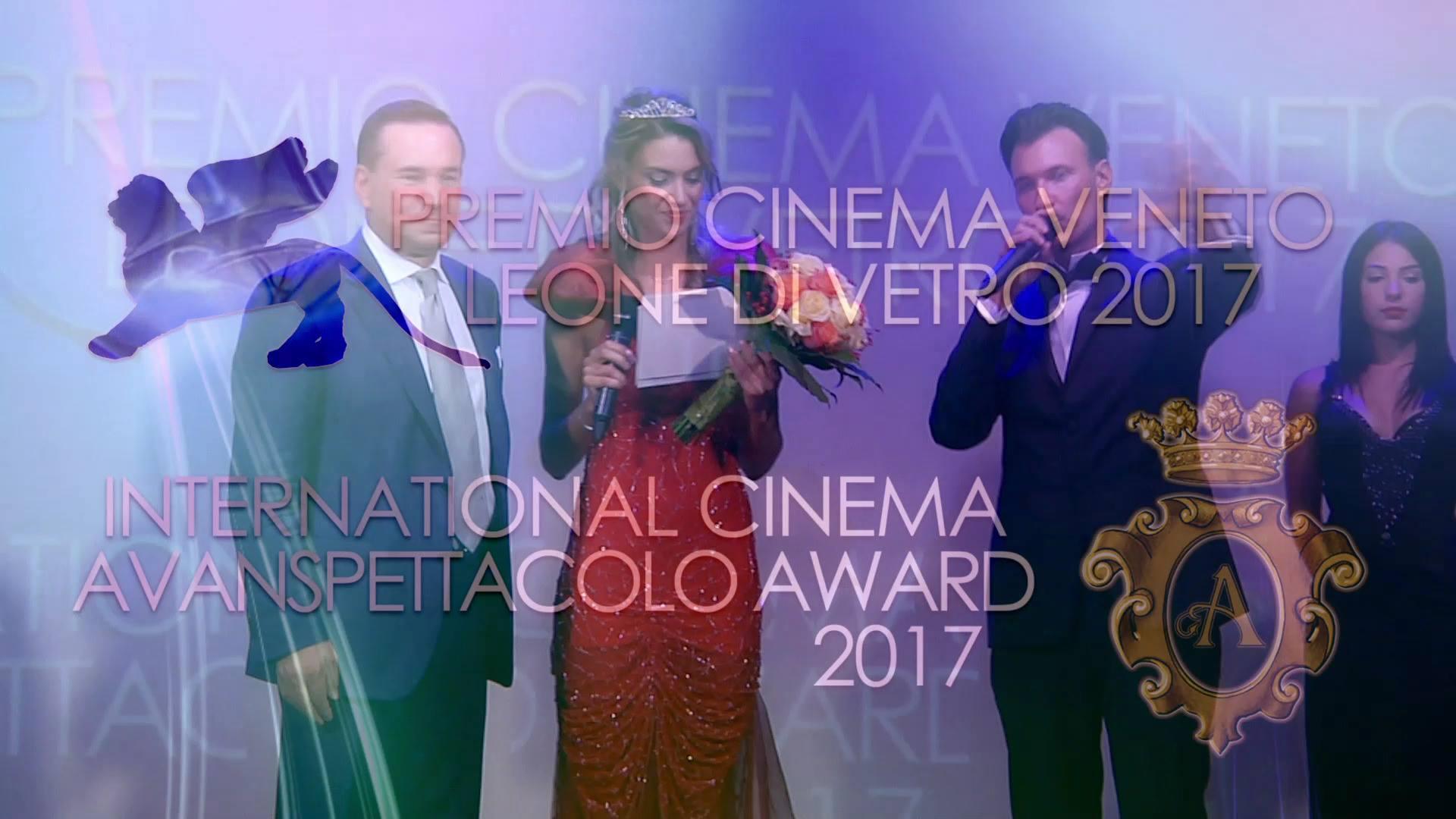 Vittoria Tomasi presenta: PREMIO CINEMA VENETO LEONE DI VETRO & INTERNATIONAL CINE...
