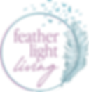 Feather Light Living Logo no text white